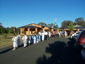 Annual IHM procession